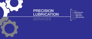 Precision Lubrication Services Motto